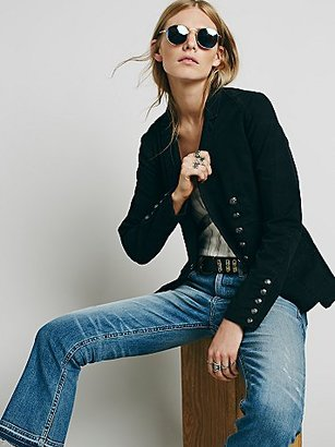 Structured Washed Blazer by Free People $148 thestylecure.com