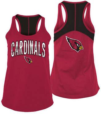 5th & Ocean Women's Arizona Cardinals Foil Colorblock Tank