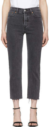 Levi's Levis Grey Wedgie Straight Jeans
