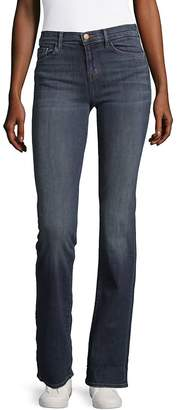 J Brand Women's Mid-Rise Bootcut Jeans