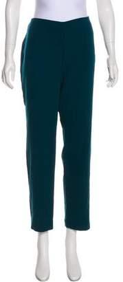 Akris Wool Mid-Rise Pants