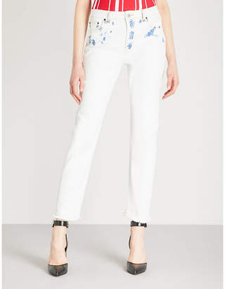 Maje Paoline straight high-rise jeans