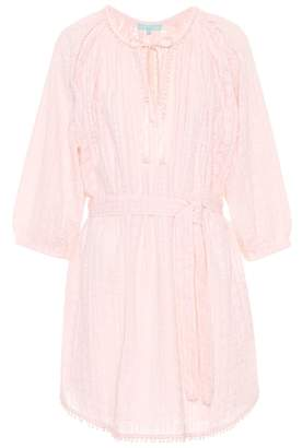 Melissa Odabash Alicia embroidered cotton dress