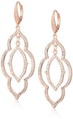 Anne Klein Women's Orbital Double Drop Earrings