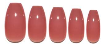 STATIC NAILS Dusty Rose Pop-On Reusable Manicure Set
