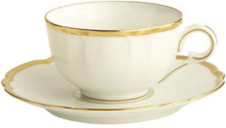Haviland & Parlon Colette Gold Cup and Saucer
