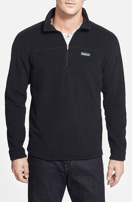 Patagonia 'Micro D' Quarter Zip Front Pullover $69 thestylecure.com