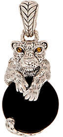 JAI Sterling Silver Leo Gemstone Enhancer