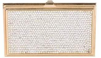 Judith Leiber Crystal-Embellished Card Holder