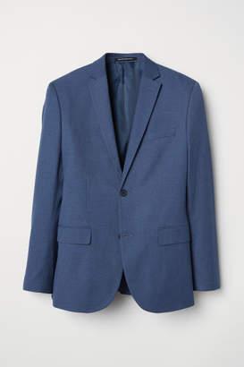 H&M Blazer Slim fit - Blue