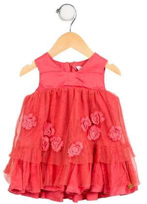 Little Marc Jacobs Girls' Tulle Sleeveless Dress