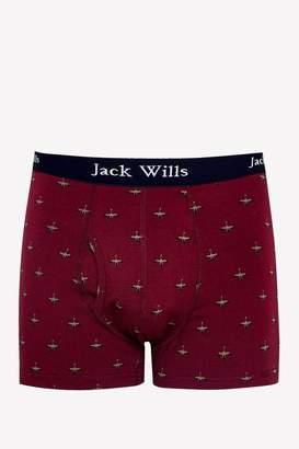 Jack Wills Bridgenorth Duck Print Boxer Shorts