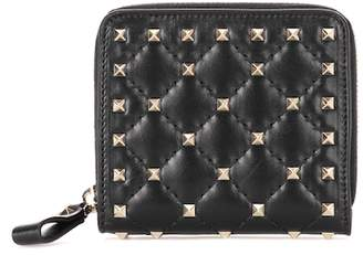 Valentino Rockstud Spike leather wallet