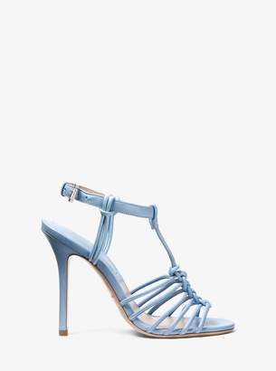 Michael Kors Alek Nappa Leather Sandal