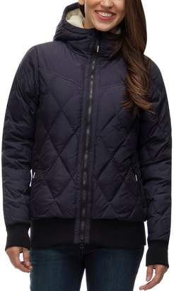 Basin and Range Quincy Hooded Down Bomber Jacket - Women's