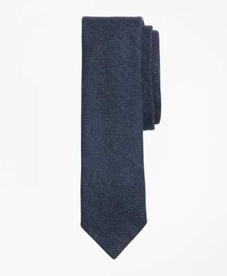 Brooks Brothers Striped Herringbone Tie