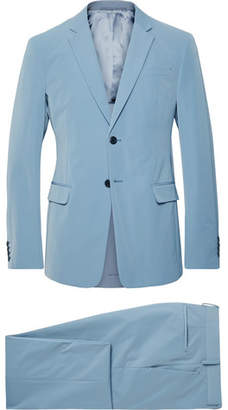 Prada Light-Blue Slim-Fit Tech-Twill Suit