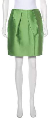 3.1 Phillip Lim Satin Mini Skirt