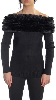 Love Token Jace Fur Collar Sweater