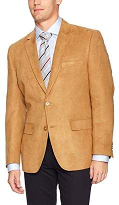 G.H. Bass & Co. Men's Classic Fit Poly Suede Blazer Sportcoat