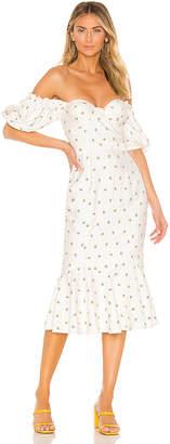 Majorelle Elise Midi Dress