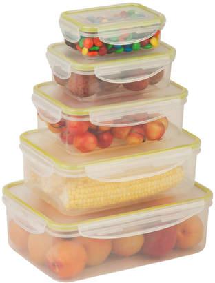 Honey-Can-Do Locking 10Pc Food Storage Set