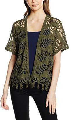 Vero Moda Women's Vmchantal SS Open DNM WP3 Cardigan
