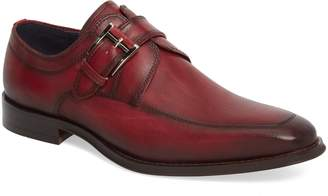 Jump Merlot Single Buckle Monk Shoe