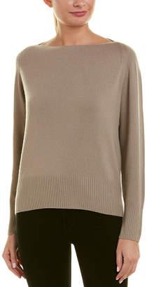 Vince Boatneck Wool & Cashmere-Blend Pullover