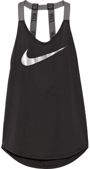 Nike - Sparkle Elastika Dri-fit Stretch Tank - Black