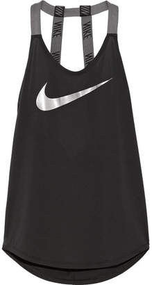 Nike Sparkle Elastika Dri-fit Stretch Tank - Black