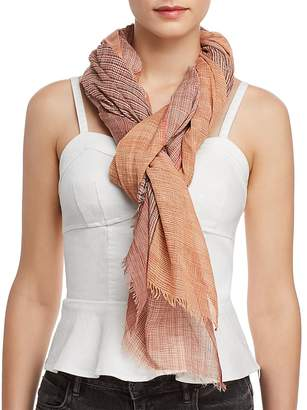 Eileen Fisher Ombré Color Block Scarf
