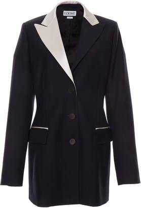 Loewe Oversized Wool Tuxedo Jacket