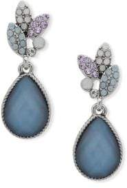 lonna & lilly Faceted Mother-Of-Pearl Drop Earrings