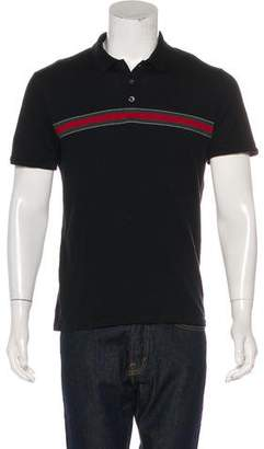 Gucci Web Polo Shirt