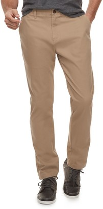 Sonoma Goods For Life Men's SONOMA Goods for Life Modern-Fit Athletic Stretch Twill Chino Pants