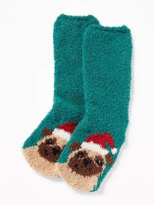 Old Navy Printed Cozy Socks for Women