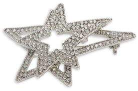 Design Lab Double Floating Star Pin