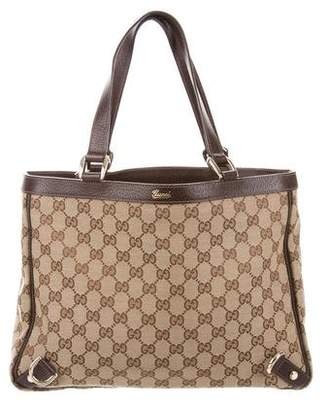 Gucci GG Canvas Abbey Tote
