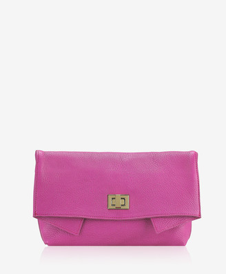 GiGi New York Claire Clutch, Orchid French Goatskin