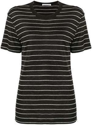 Alexander Wang striped knitted T-shirt