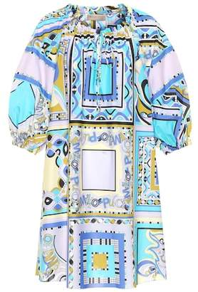 Emilio Pucci Beach Printed cotton dress