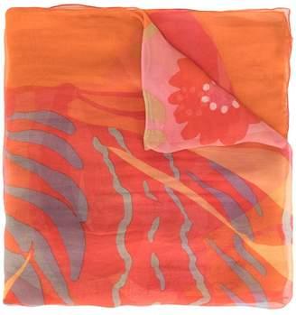 Salvatore Ferragamo Pre-Owned printed scarf