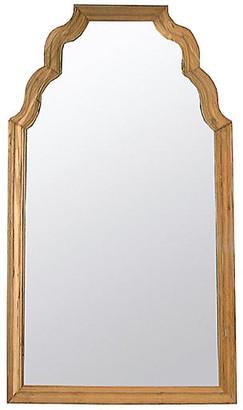 """Noir Teak 53""""x94"""" Floor Mirror - Natural"""