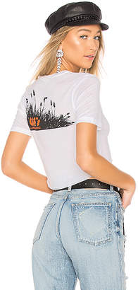 Off-White Landscaping Crop Tee