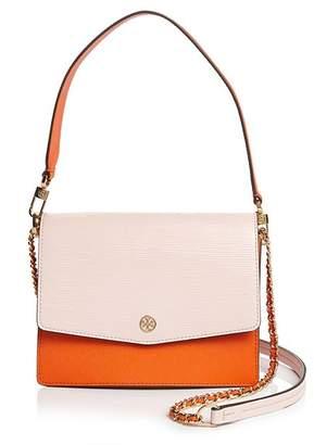 Tory Burch Robinson Color-Block Shoulder Bag