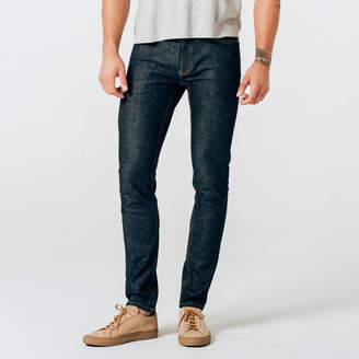 DSTLD Skinny Jeans in Dark Wash Resin - Timber Stitch
