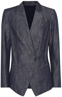 Brunello Cucinelli Cotton denim blazer