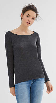 Esprit Basic jumper in soft fine knit yarn