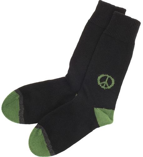 Corgi Peace Socks